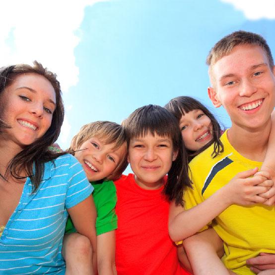 la rélfexologie pour les enfants et les adolescents